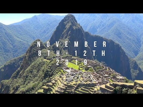 THE MOVE MENT, MACHU PICCHU, NOVEMBER 8TH - 12TH, 2019